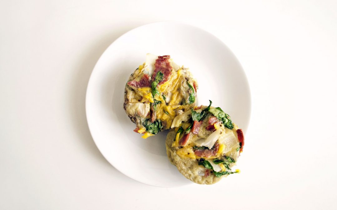 Spinach and Turkey Bacon Frittata